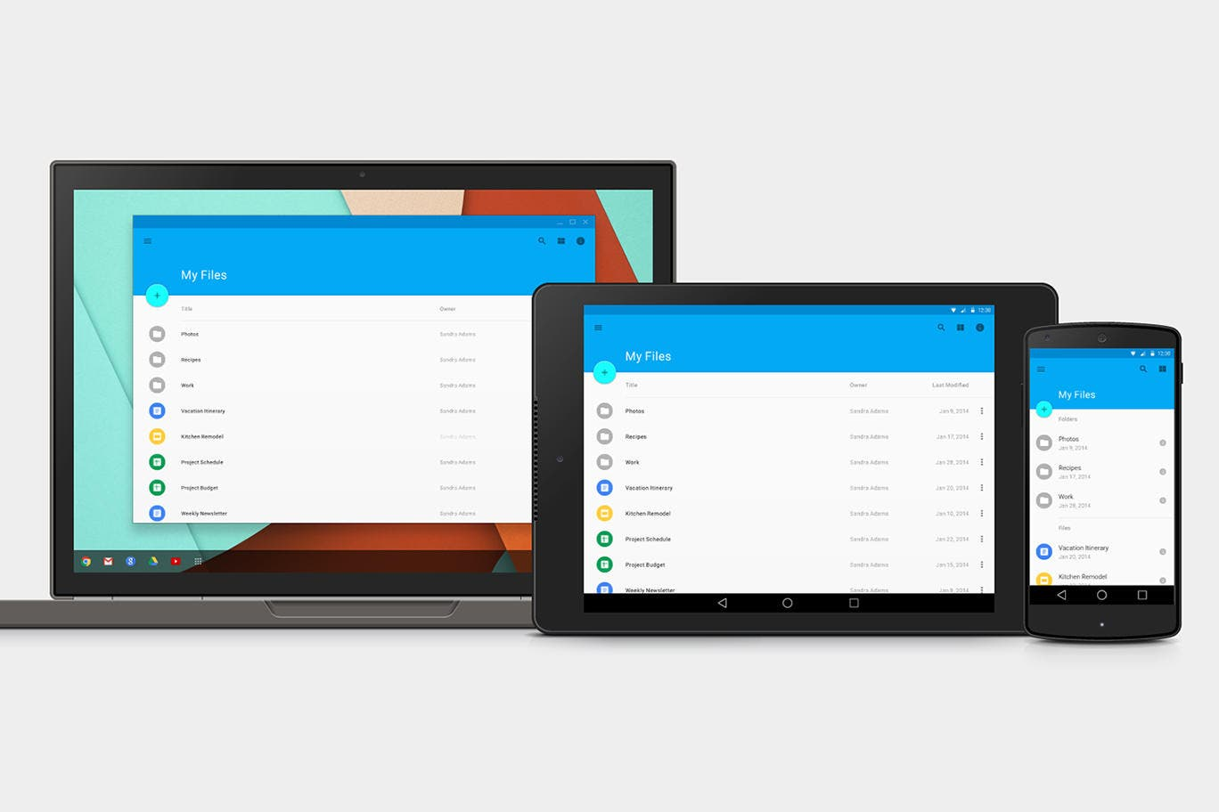Google I/O Android L Design