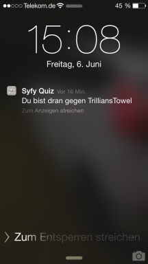 Syfy Quiz App