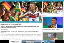 Sport1 für iPad