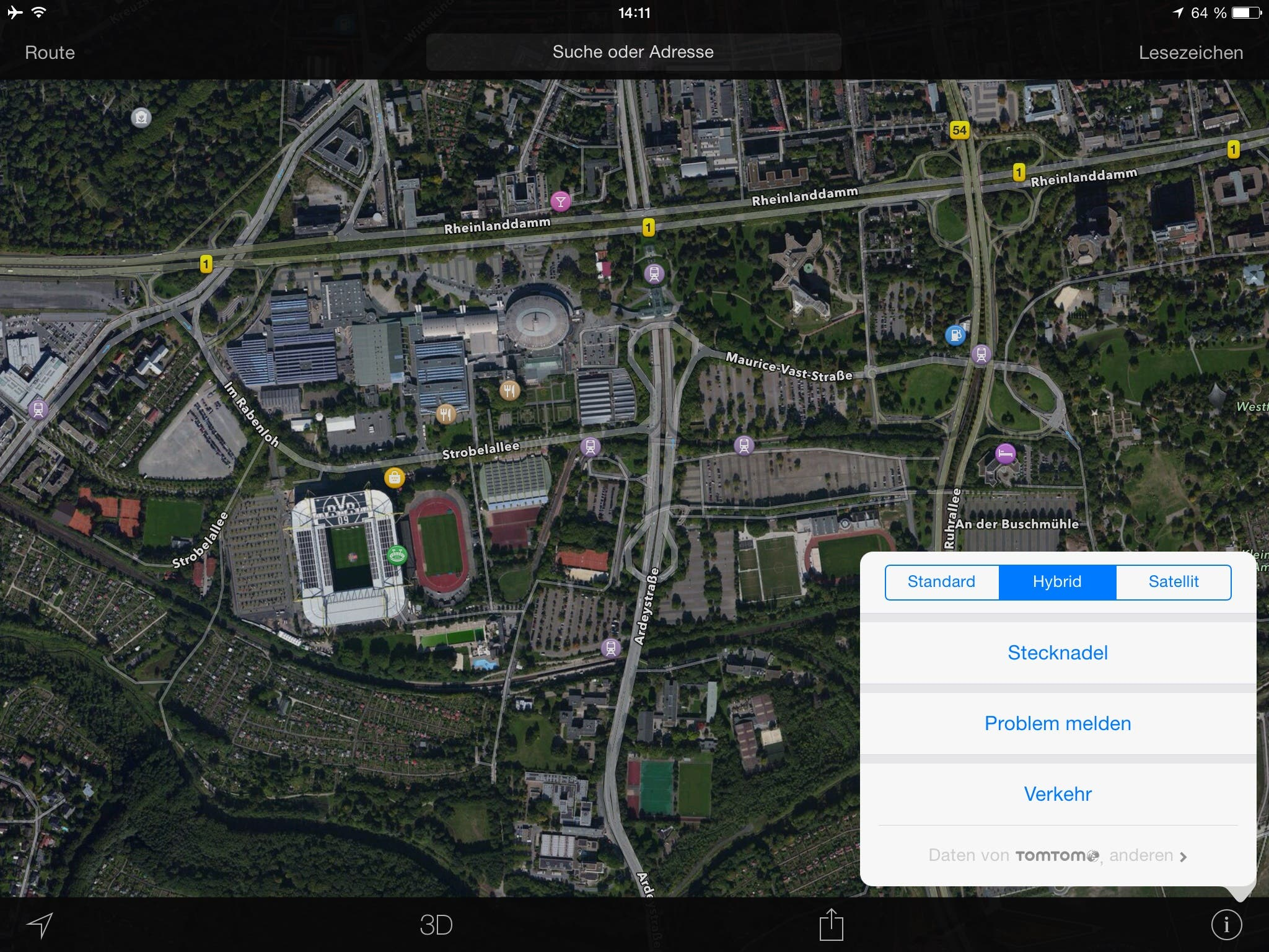Apple Maps Screenshot
