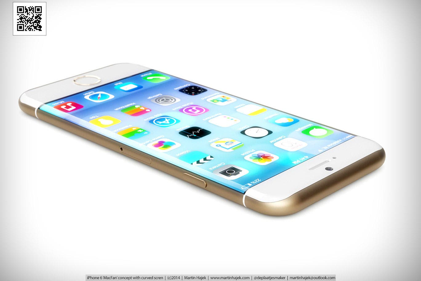 iPhone 6 Concept by Martin Hajek
