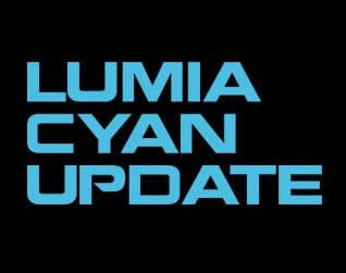 Lumia Cyan Update