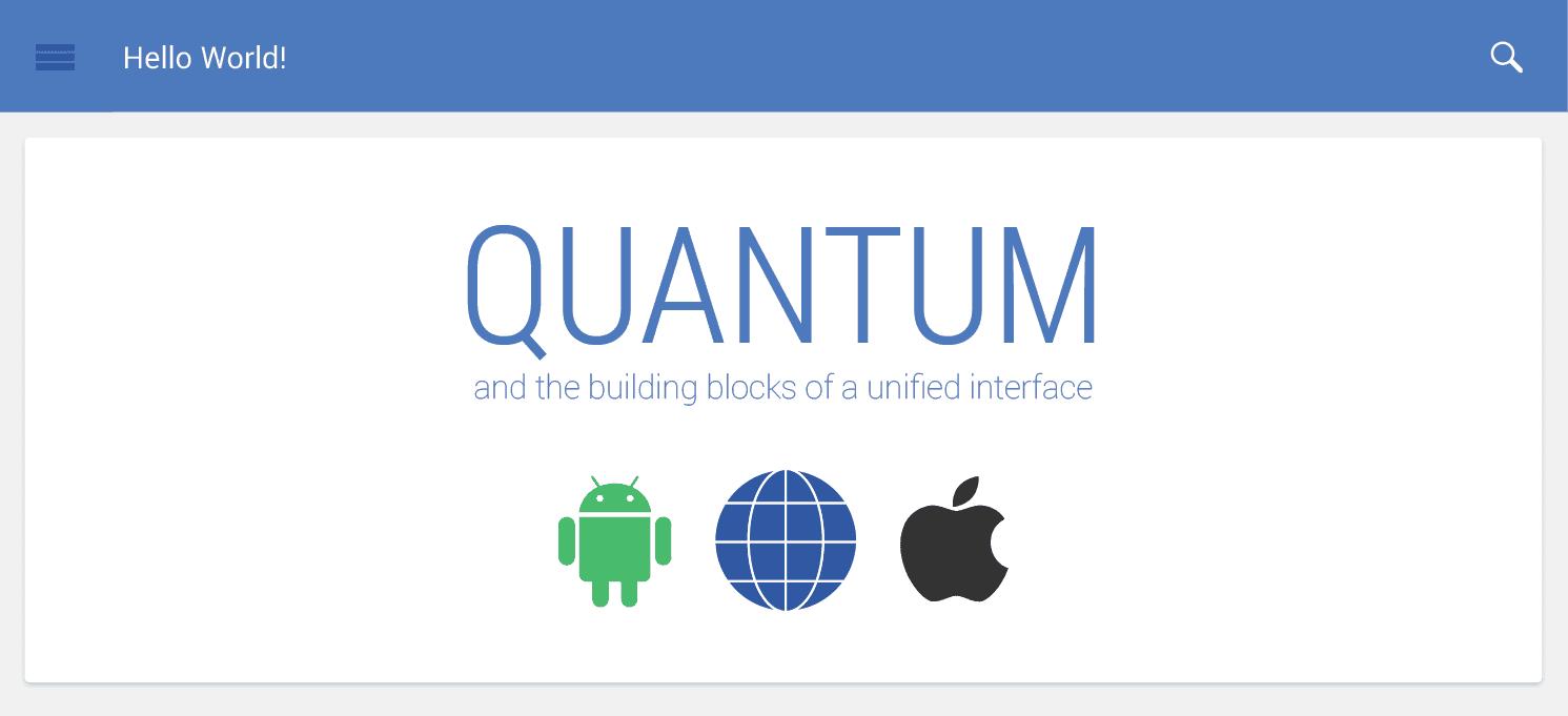 Android Quantum Paper