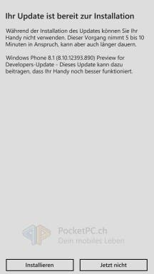 WP8.1 update