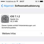Apple iOS 7.1.2 Update