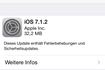 Apple iOS 7.1.2 Update