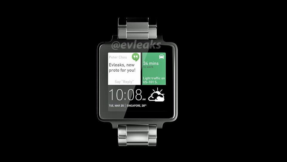 HTC Smartwatch Android Wear