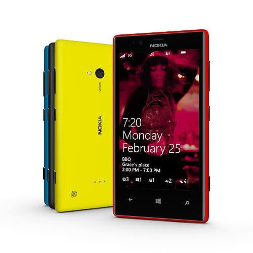 Nokia Lumia 720 Cyan Update