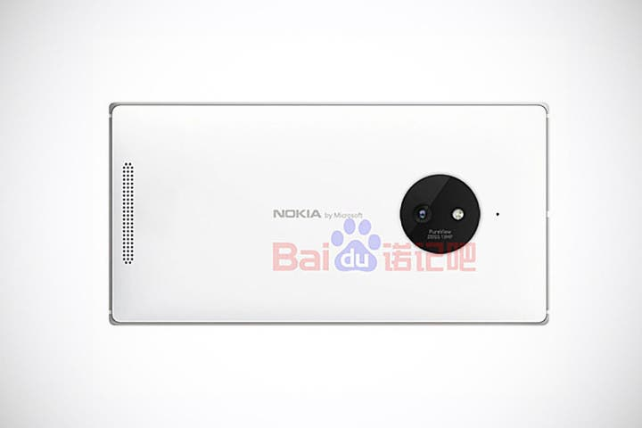 Nokia Lumia 830 Rendering