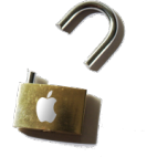 Apple Padlock padlock, cc:bysa original: marc kjerland adaption: yves jeanrenaud