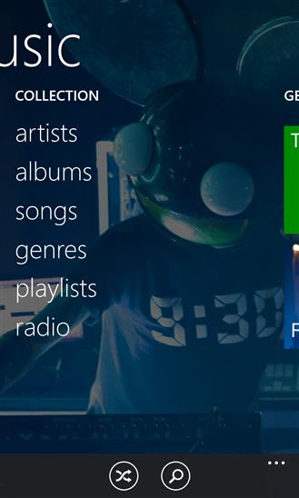 Update Xbox Music