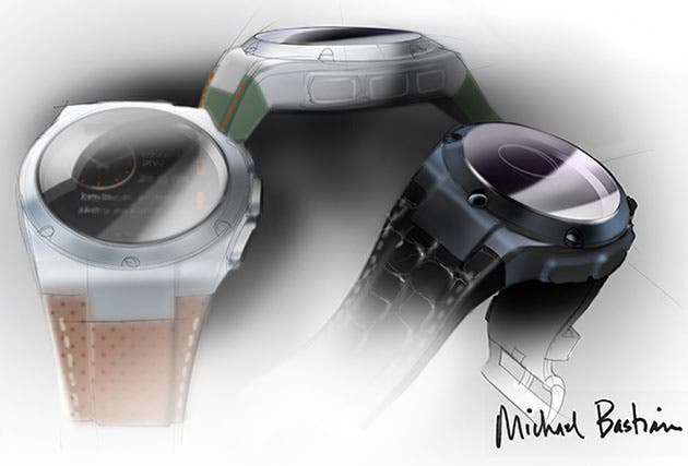 HP Michael Bastian Smartwatch