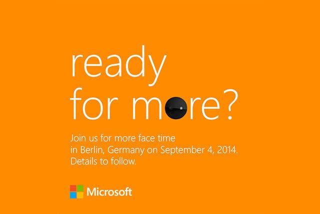 Microsoft Invite IFA 2014