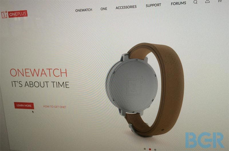 OnePlus One Watch
