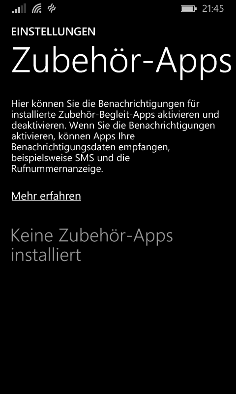 Geräte App