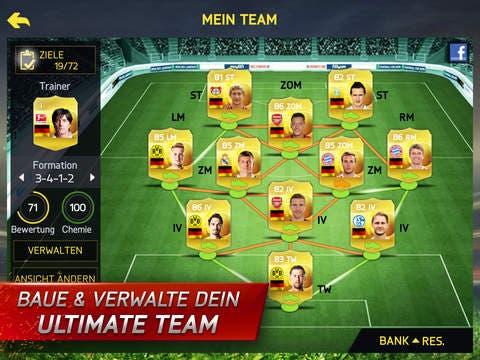 FIFA 15 UT für iOS