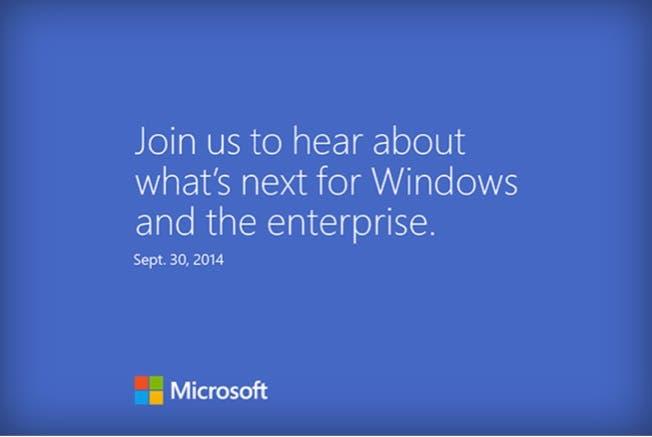 Windows 9 Vorstellung