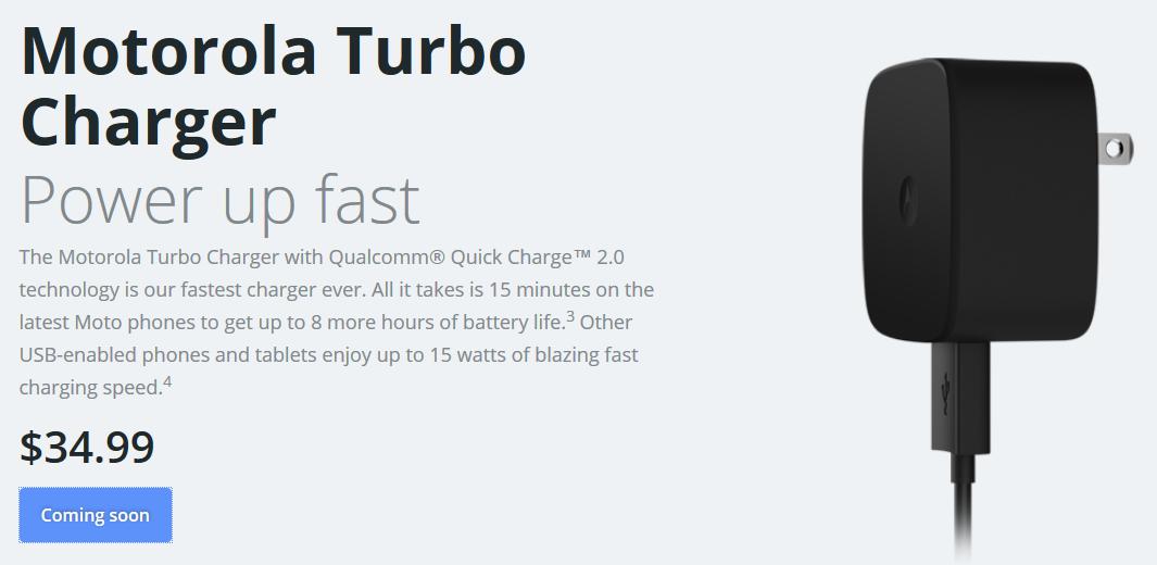 Motorola Turbo Charger