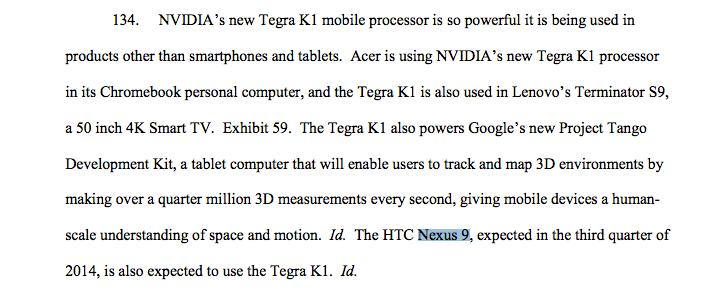 NVIDIA bestätigt Nexus 9