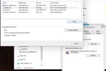 Windows 10 Installation - Festplatte defragmentieren