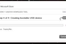 Windows 10 Installation - Mit dem Windows 7 USB DVD Tool ist das Erstellen sehr einfach