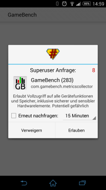 GameBench Screenshot