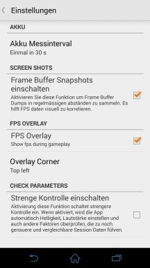 GameBench Screenshot