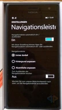 Microsoft Lumia 735 LTE Screenshot