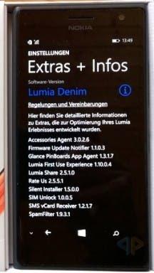 Microsoft Lumia 735 LTE Screenshot