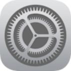 iOS 8 Settings Logo