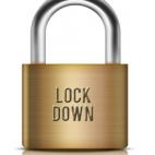 """Umhängeschloss """"Lock Down"""""""