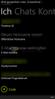 Theema BETA für Windows Phone