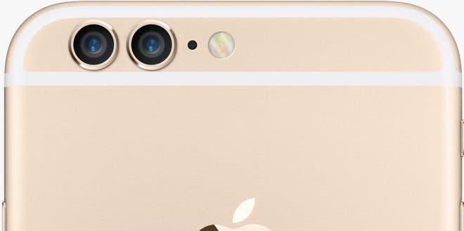 iPhone 6s mit zwei Kameralinsen