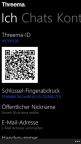 Threema for Windows Phone