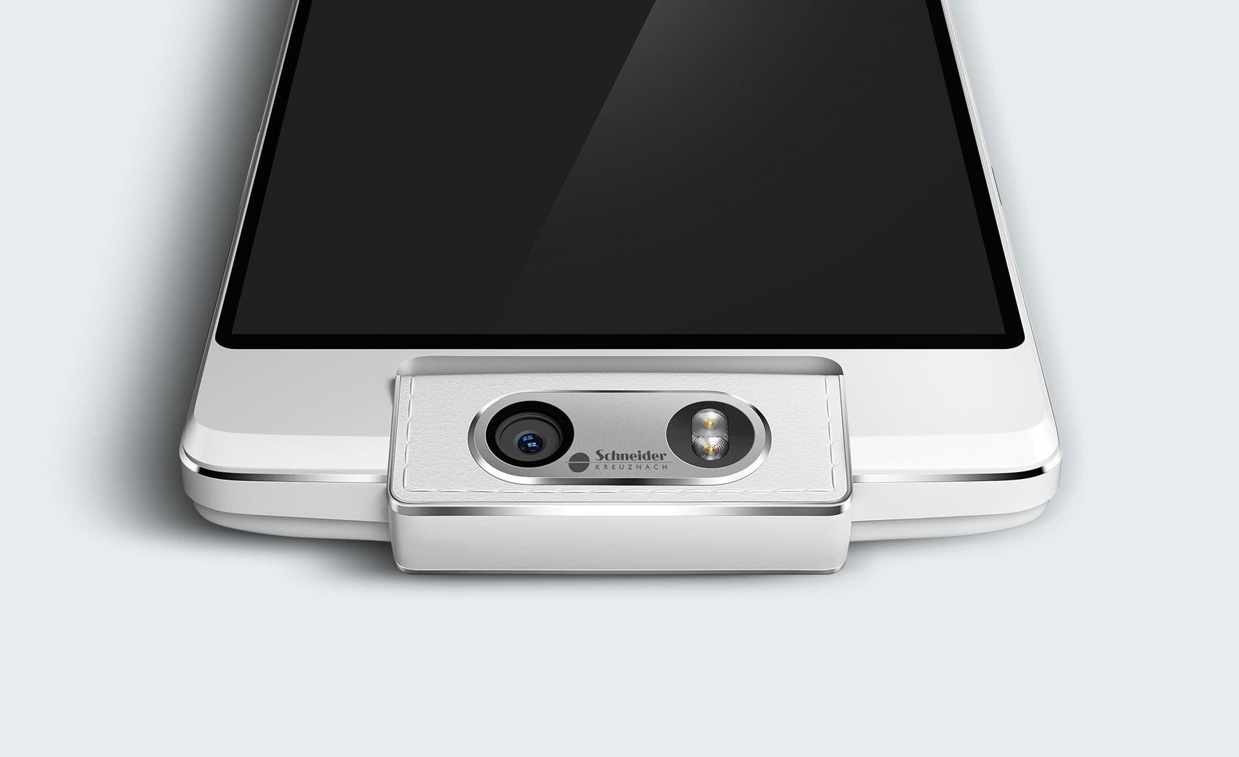 Oppo N3 mit Kamera-Optik von Schneider-Kreuznach