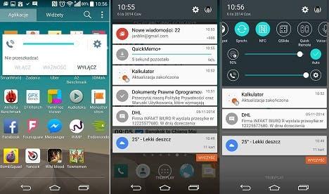 Android 5.0 auf dem LG G3