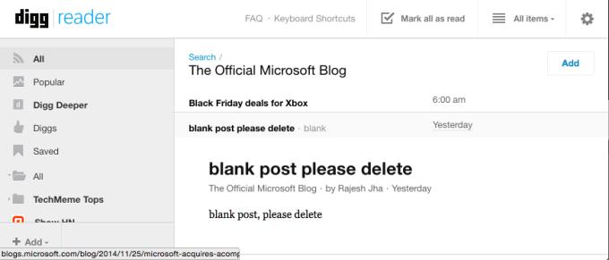Microsoft Acompli E-Mail