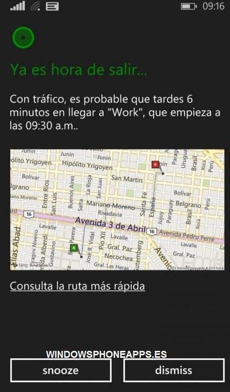 Cortana auf Spanisch