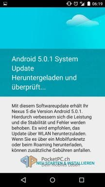 Update Android 5.0.1