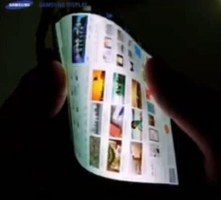 Samsung Plastic Oled