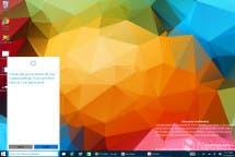 Windows 10 Build 9901 Cortana