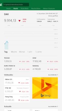 MSN Finanzen App
