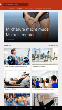 MSN Gesundheit & Fitness App