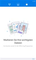 Dropbox für Windows Phone Screenshot