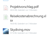 Dropbox für Windows Phone