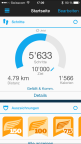 Garmin Vivosmart Screenshot