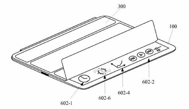 iPad Steuerung mittels Smart Cover