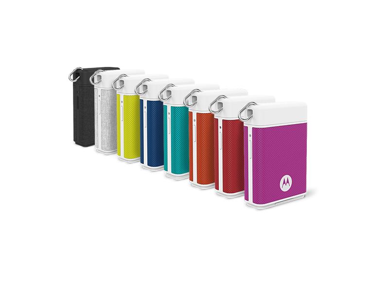 Motorola Power Pack Micro in sechs Farben
