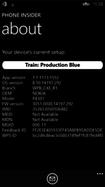Phone Insider App Windows Phone