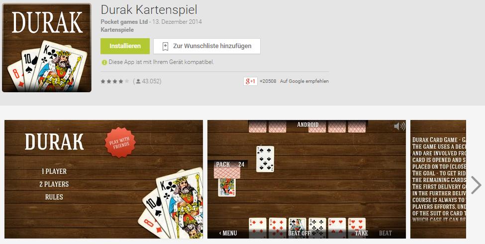 Durak Spam App